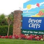 Devon cliffs.