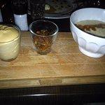 riz au lait mousse caramel beurre salé noix pécans caramélisées