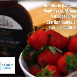 Choice of fresh strawberries or blueberries