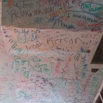 names on ceiling