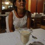 Ana y su crema de almendras