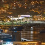 Funchal by Night taken from Cliff Bay
