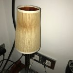 Scorched lampshade