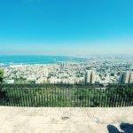 PANORAMIC VIEW OF HAIFA FROM THE PROMENADE