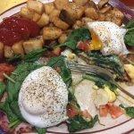 Eggs Bennie florentine