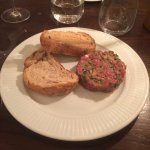 Steak Tartare a French classic..... AND... they do a good job of it!