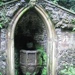 Grotto in the Plas Newydd woodland walk