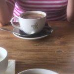 Milk served in a cup!!!!! Welsh milk jug?????