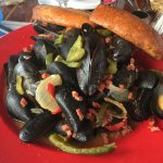 Portuguese mussels Heavenly