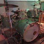Drum set at RCA Victor Studio B in Nashville.