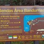 Foto de Sendero al Mirador Bandurrias