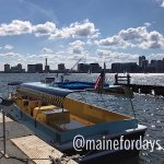 Easy to catch the water taxi across the harbor into Boston. Highly recommend! Quick + great view