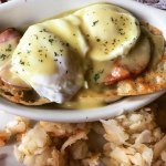 Breakfast! Great eggs Benedict
