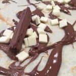 Triple chocolate crêpe!