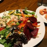 Selections from the salad bar