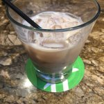 Great drinks! This is their nutty Irishman Cocktail. Frangellico & Baileys. If you want a Spicy