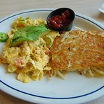 Hot and fiery scramble