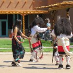 Buffalo dance - a winter dance