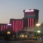This is how the Atlantis looks in the evening