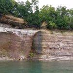 cliffs along Grand Island