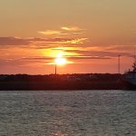 sunset in Bonavista