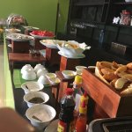 free breakfast and a lot of variety