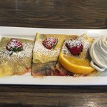 Nutella and Strawberry Crepe..yum!