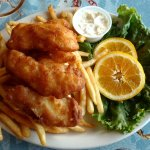 Fish & chips (fries)