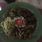 Stir fried Veggies with spagetti
