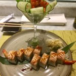 Off-menu creations by John and Jackson at the Hyatt sushi bar