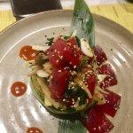 Off-menu creations by John and Jackson at the Hyatt sushi bar