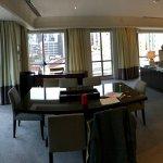 Corner Regent Suite, work space area