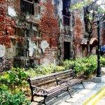 Old brick walls inside Fort Santiago