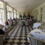 Colonial indoor terrace