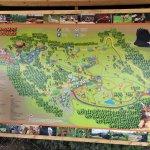 plan du parc à l'entrée