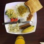 Breakfast is good