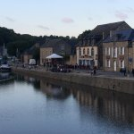 Port Dinan in the evening