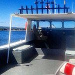 Lots of space on board Collingwood's best equipped fishing charter boat