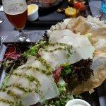 Gesier (gizzard) salad