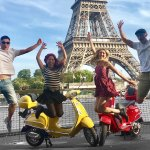 偉士牌機車、輕型機車和電動腳踏車遊覽