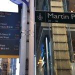 Martin Pl sign
