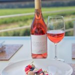Glen Carlou's The Curators Collection Rose paired with Duck Liver Parfait and Summer Berries