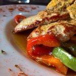 Pork Filet, potato wedges, Café du Paris butter and veggies