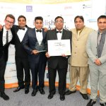 Raja Team Winning Best In England Award!
