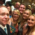 family photo with teller