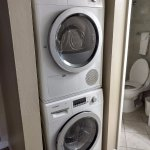 Very convenient laundry in room