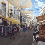 One of the streets of Nerja