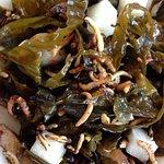 Seaweed Salad, plus extras