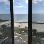 View from oceanfront suite