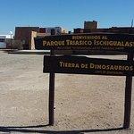 Ingreso al parque Ischigualasto :)